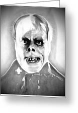 Phantom Of The Opera Greeting Card