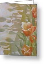 Phantom Tulips Greeting Card