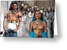Pharaoh Of Egypt Exodus 2 Greeting Card