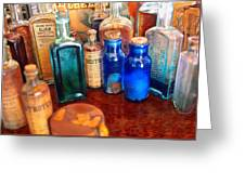 Pharmacist - Medicine Cabinet  Greeting Card by Mike Savad