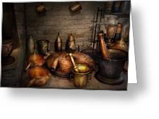 Pharmacy - Alchemist's Kitchen Greeting Card