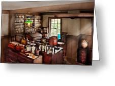 Pharmacy - Where I Make Medicine  Greeting Card