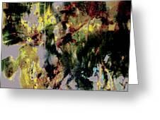 Pharrell Williams Paint Splats Greeting Card