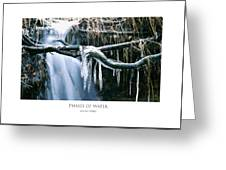 Phases Of Water Greeting Card