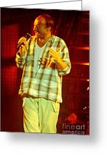 Phil Collins-0872 Greeting Card