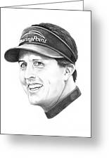 Phil Mickelson Greeting Card