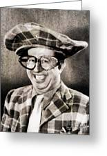 Phil Silvers, Comedy Legend Greeting Card