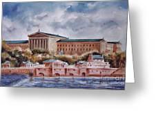 Philadelphia Art Museum Greeting Card by Joyce A Guariglia