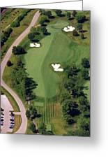 Philadelphia Cricket Club Militia Hill Golf Course 10th Hole Greeting Card by Duncan Pearson