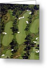 Philadelphia Cricket Club Militia Hill Golf Course 17th Hole Greeting Card by Duncan Pearson