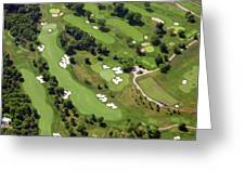 Philadelphia Cricket Club Militia Hill Golf Course 6th Hole 2 Greeting Card by Duncan Pearson