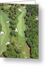 Philadelphia Cricket Club Militia Hill Golf Course 7th Hole Greeting Card