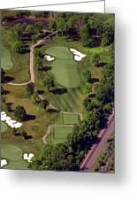 Philadelphia Cricket Club Militia Hill Golf Course 9th Hole Greeting Card