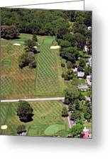 Philadelphia Cricket Club St Martins Golf Course 1st Hole 415 W Willow Grove Avenue Phila Pa 19118 Greeting Card