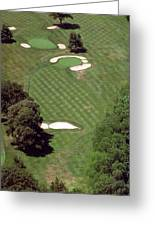 Philadelphia Cricket Club St Martins Golf Course 2nd Hole 415 W Willow Grove Ave Phila Pa 19118 Greeting Card