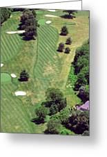 Philadelphia Cricket Club St Martins Golf Course 8th Hole 415 W Willow Grove Ave Phila Pa 19118 Greeting Card by Duncan Pearson
