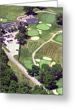 Philadelphia Cricket Club Wissahickon Golf Course 10th Hole Greeting Card by Duncan Pearson