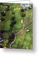 Philadelphia Cricket Club Wissahickon Golf Course 11th Hole Greeting Card by Duncan Pearson