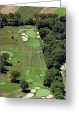 Philadelphia Cricket Club Wissahickon Golf Course 15th Hole Greeting Card by Duncan Pearson