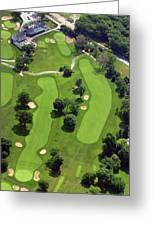 Philadelphia Cricket Club Wissahickon Golf Course 18th Hole Greeting Card