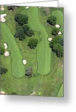 Philadelphia Cricket Club Wissahickon Golf Course 4th Hole Greeting Card by Duncan Pearson