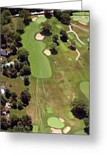 Philadelphia Cricket Club Wissahickon Golf Course 6th Hole Greeting Card by Duncan Pearson