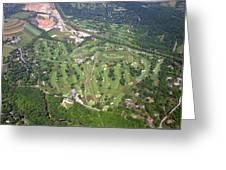 Philadelphia Cricket Club Wissahickon Golf Course Flourtown Greeting Card