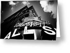 Philadelphia Hard Rock Cafe  Greeting Card by Bill Cannon
