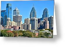 Philadelphia In Tight Greeting Card