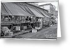 Philadelphia Italian Market 3 Greeting Card by Jack Paolini