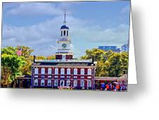 Philadelphia Landmark Greeting Card