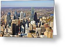Philadelphia Market East 2925 Greeting Card