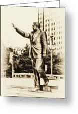 Philadelphia Mayor - Frank Rizzo Greeting Card