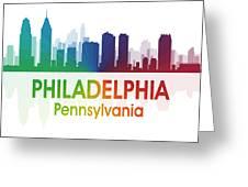 Philadelphia Pa Greeting Card