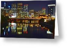 Philadelphia Pa River View Greeting Card