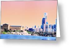 Philadelphia Panoramic Greeting Card