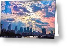 Philadelphia Sky Greeting Card