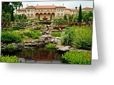 Philbrook Museum Gardens Greeting Card