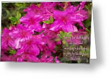 Philippians 4 19b Greeting Card