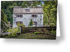 Philipsburg Manor House - Thru The Woods Greeting Card