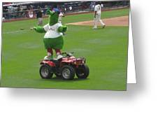 Phillie Phanatic Greeting Card