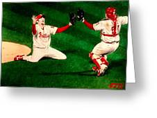 Phillies Win The World Series Greeting Card