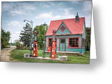 Phillips 66 Gas Station Greeting Card