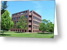 Phillips Exeter Academy Louis Kahn Library Greeting Card
