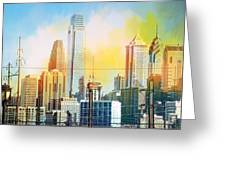 Philly From Drexel Hill Greeting Card