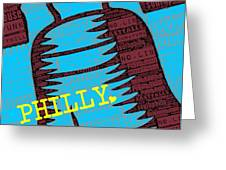 Philly Liberty Bell Greeting Card