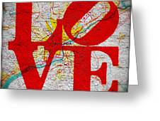 Philly Love V1 Greeting Card