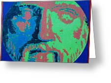 Philosopher - Pythagoras Greeting Card