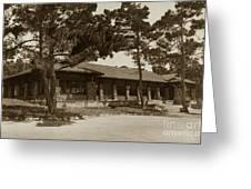 Phoebe A Hearst Social Hall Asilomar Pacific Grove Circa 1925 Greeting Card