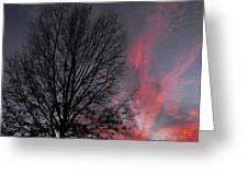 Phoenix Cloud Rising Greeting Card